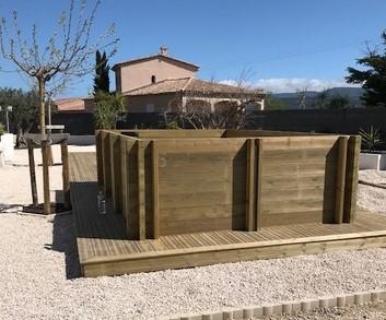 Mini piscine 4x2.50 Toulon Var La Garde Hyeres Bandol 83